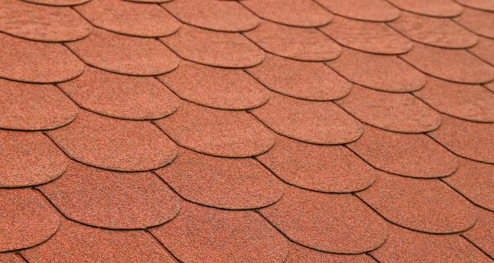 Dacheindeckung Teerpappe Dachziegel