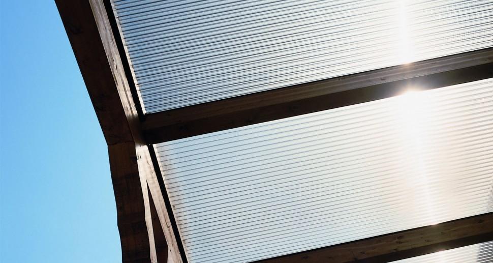 Dacheindeckung Lichtplatten Plastik