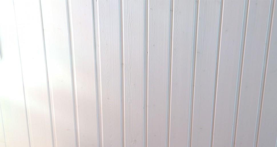 Deckenpaneelen, Wandverkleidung weiß