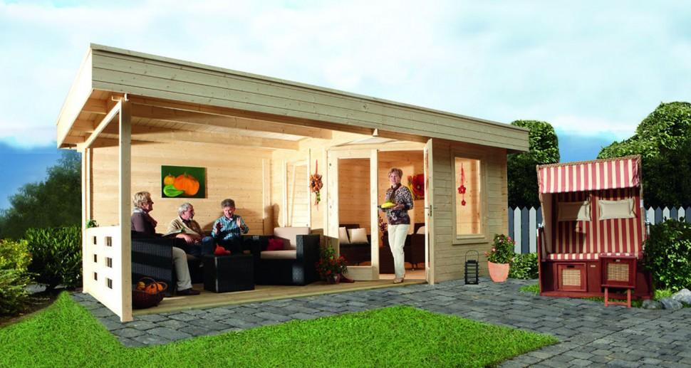 Gartenhaus Kiefer Holz