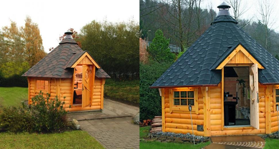 Finnisches Gartenhaus