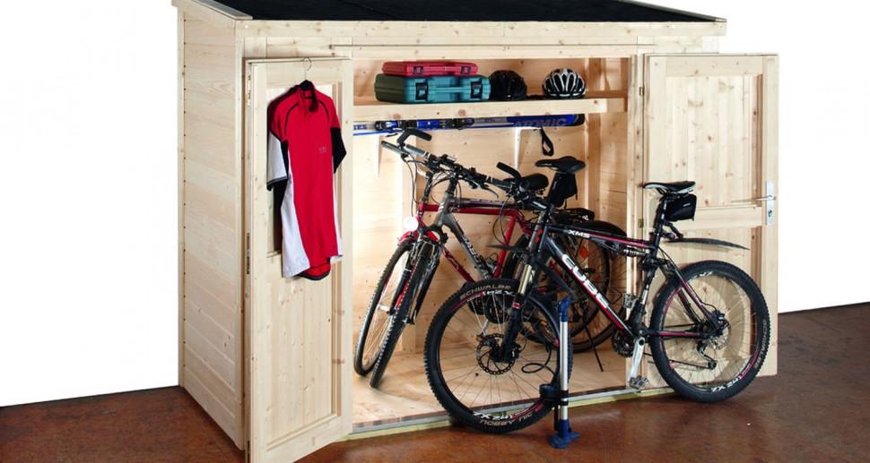 Gartenschrank für Fahrräder Fahrradunterstand