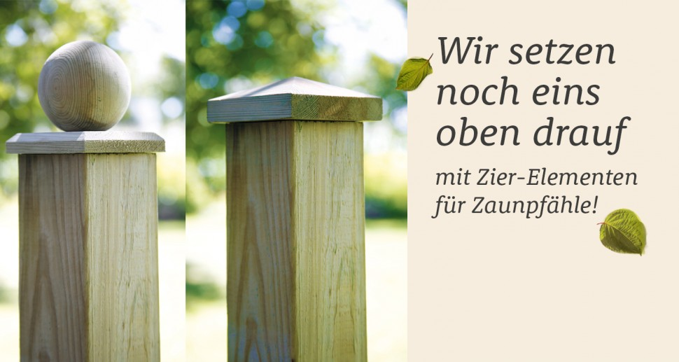 Zierelement Gartenzaun