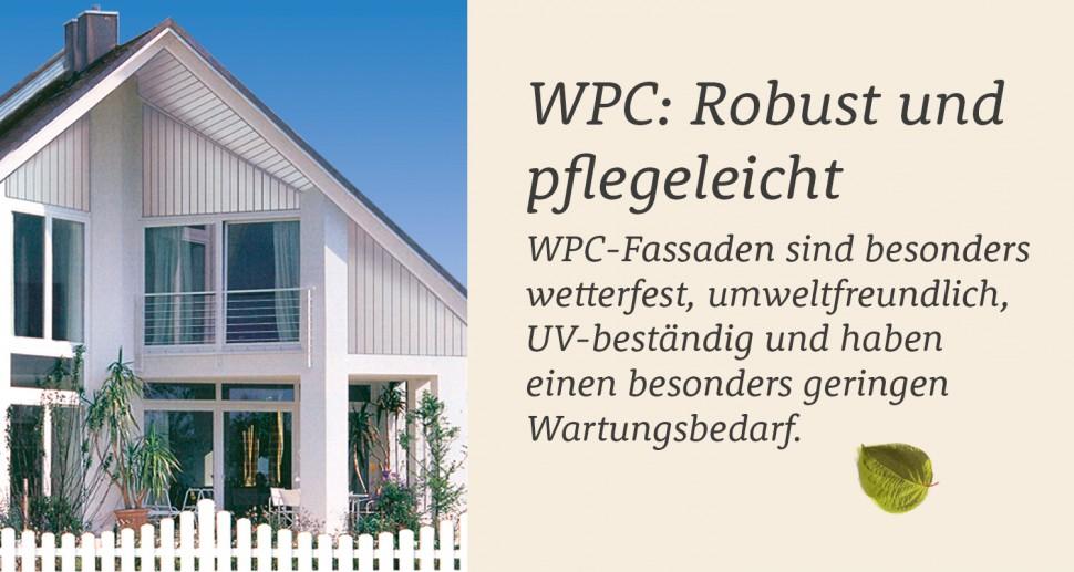 WPC Giebelverkleidung