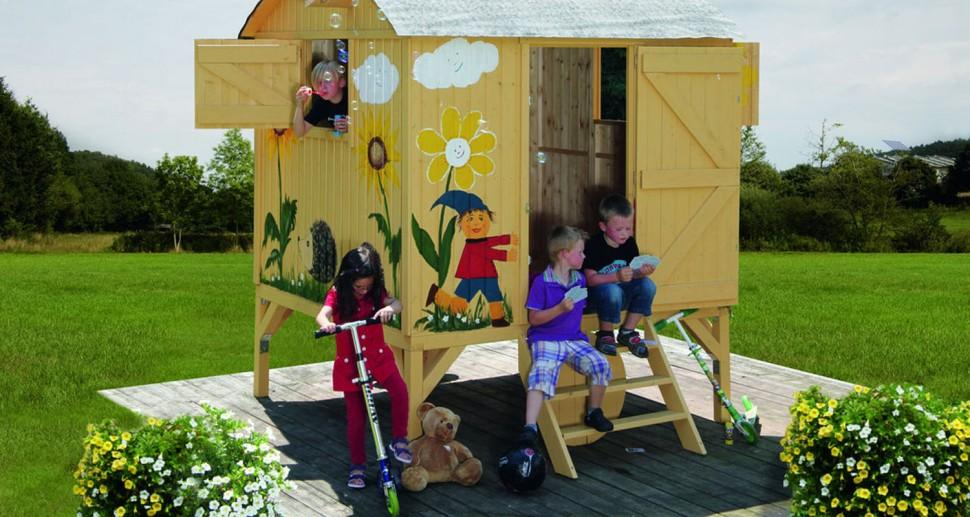 Bauwagen Gartenhaus