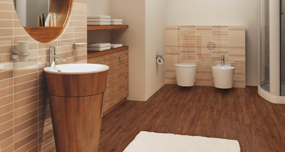 Laminat Wineo braun dark oak