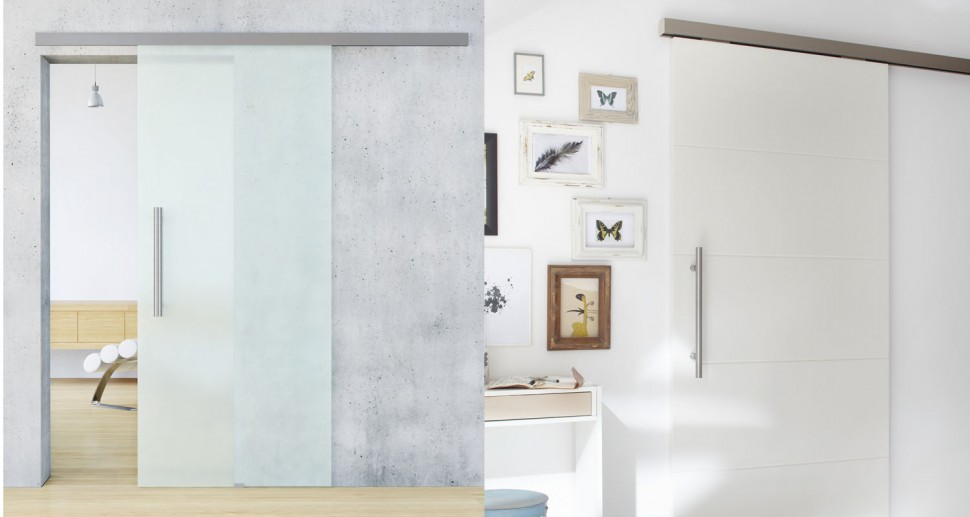 Zimmertüren Lebo design Glasschiebetüre modern