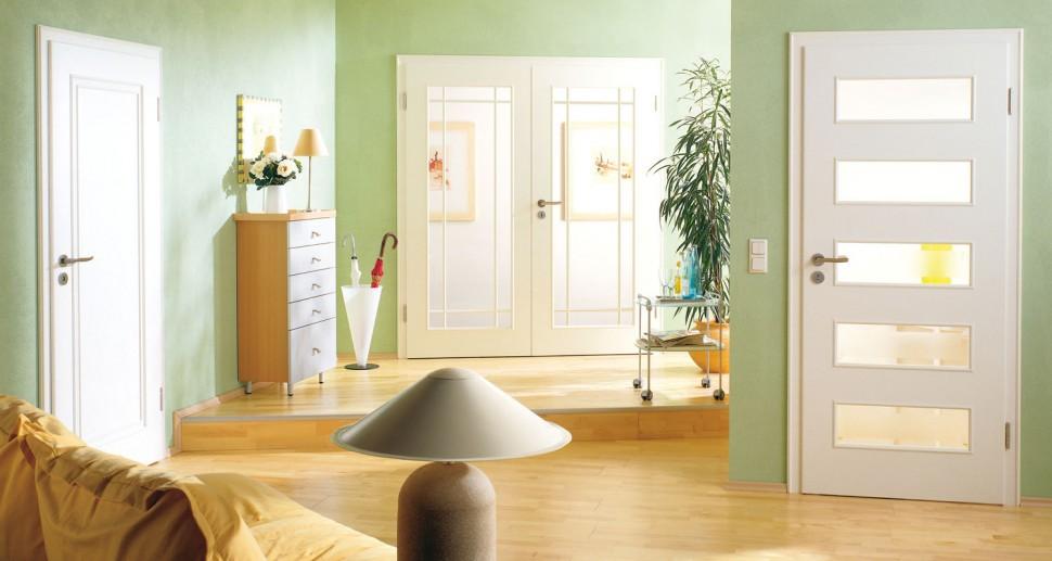 Zimmertüren Lebo weiß doppelfügeltür