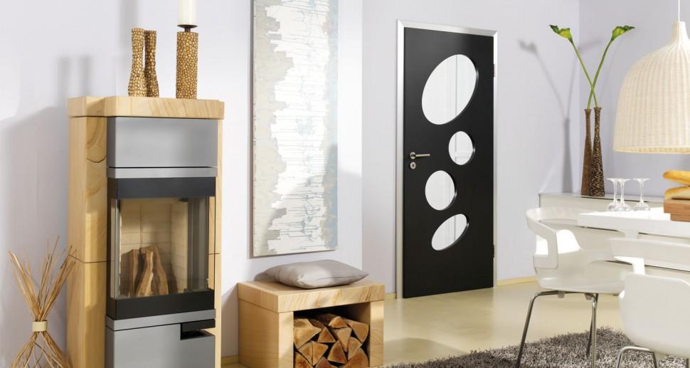 Zimmertüren Lebo schwarz modern
