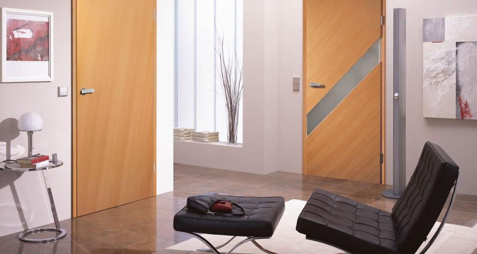 Zimmertüren eiche modern  Genau passend - Zimmertüren von Holz Lumbeck