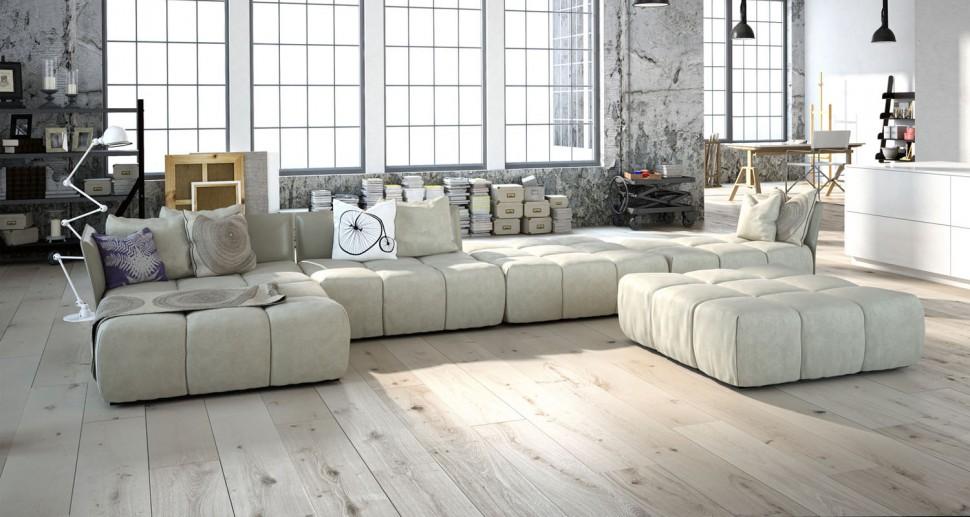 Massivholzboden Design