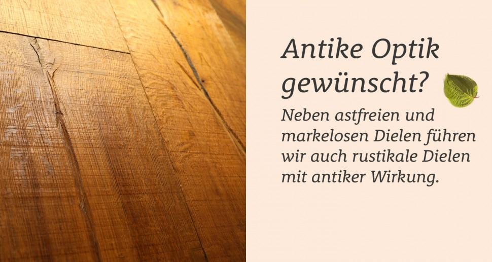 Antiker Holzboden Optik antik