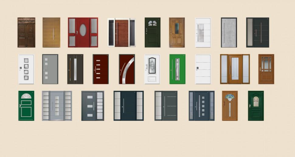 Haustüren Vielfalt Übersicht