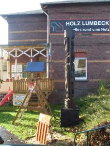 Holzhandlung Lumbeck Langenberg Außenansicht