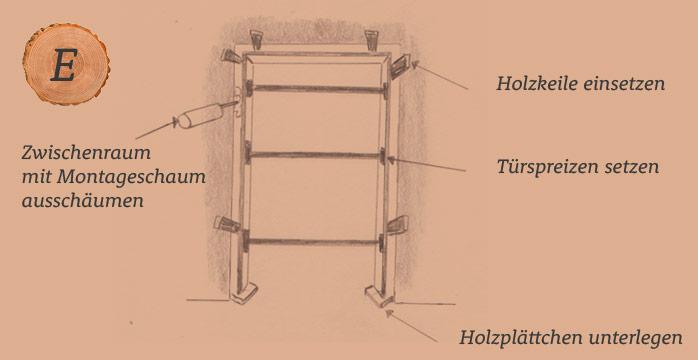 Türzarge Holz
