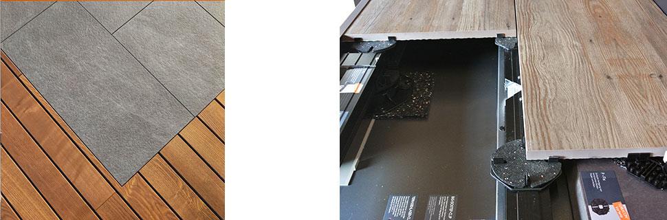 Keramische Terrasenplatten
