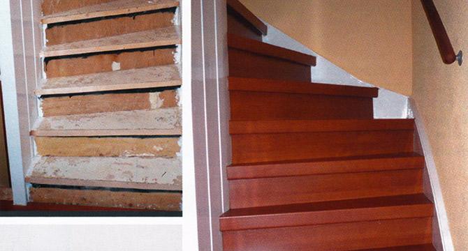 Beschreibt Treppenrenovierung