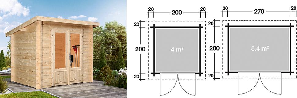Gartenhaus Luca